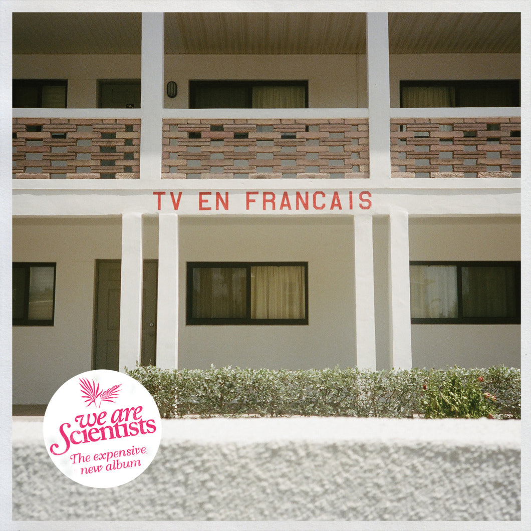 TV en Français (CD) [Signed Copies Available] | We Are Scientists Official Store