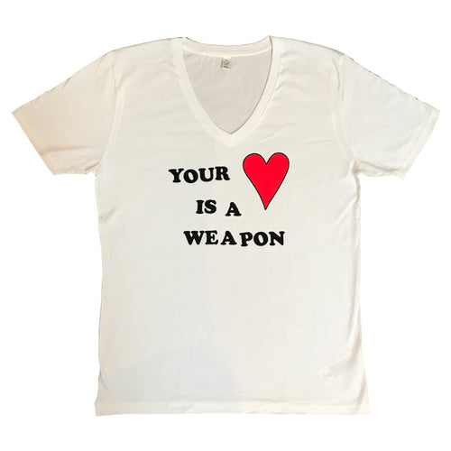 Your ❤️ Is A Weapon - T Shirt | We Are Scientists Official Store