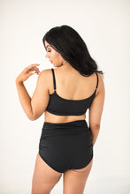 Load image into Gallery viewer, 'Brave' Black High Waisted Gathered Bottoms - The Firefly Collection