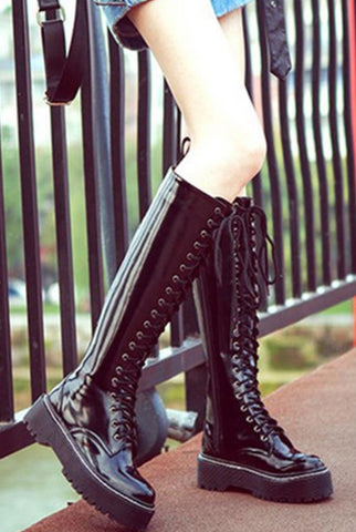 Fashion Casual Women's  Martin Thigh Boot Riding Boots