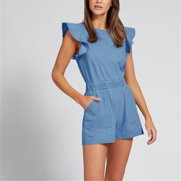 Fashion Sexy Sleeveless Rompers