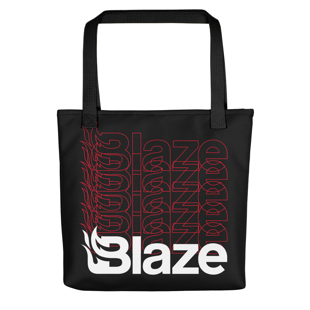 Blaze Repeated Tote Bag