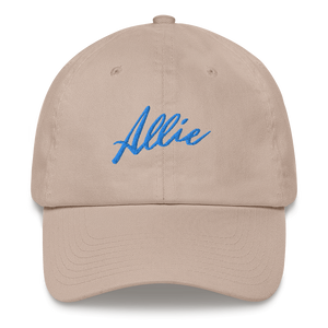 Allie Script Dad Hat