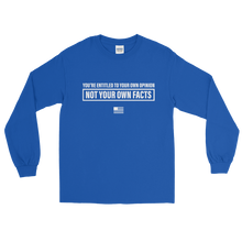 Load image into Gallery viewer, Facts > Opinions Long Sleeve T-Shirt