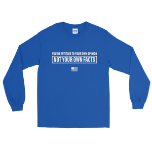 Facts > Opinions Long Sleeve T-Shirt
