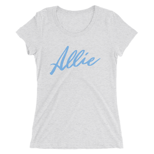 Allie Script Women's T-Shirt