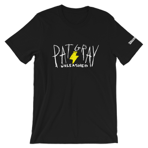 Pat Gray Unleashed Intro Logo Lightning Bolt T-Shirt