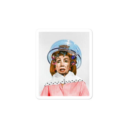 Nancy Pelosi by Sabo Alternate Sticker