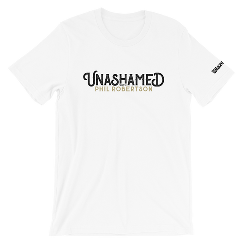 Unashamed with Phil Robertson Logo T-Shirt