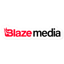 Load image into Gallery viewer, Blaze Media Logo Sticker