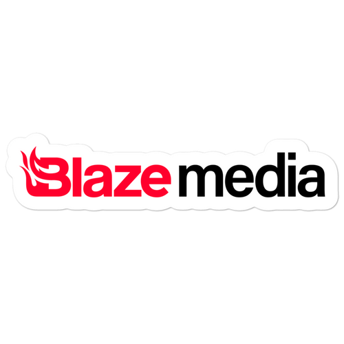 Blaze Media Logo Sticker