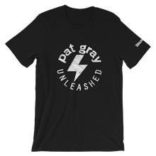 Load image into Gallery viewer, Pat Gray Unleashed Logo T-Shirt
