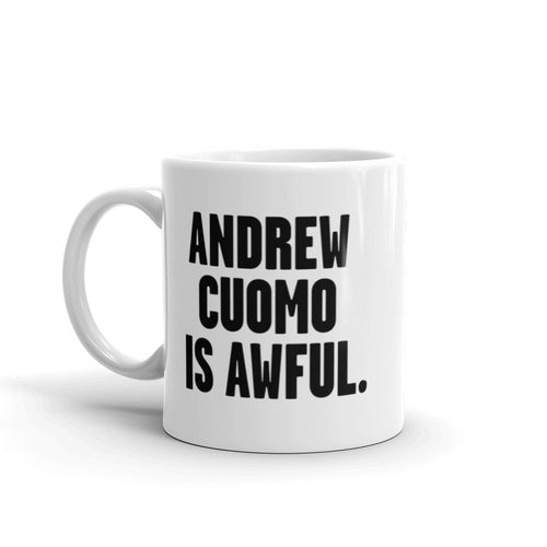 Andrew Cuomo is Awful Mug