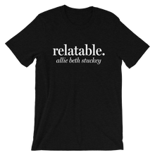 Load image into Gallery viewer, Relatable Logo T-Shirt