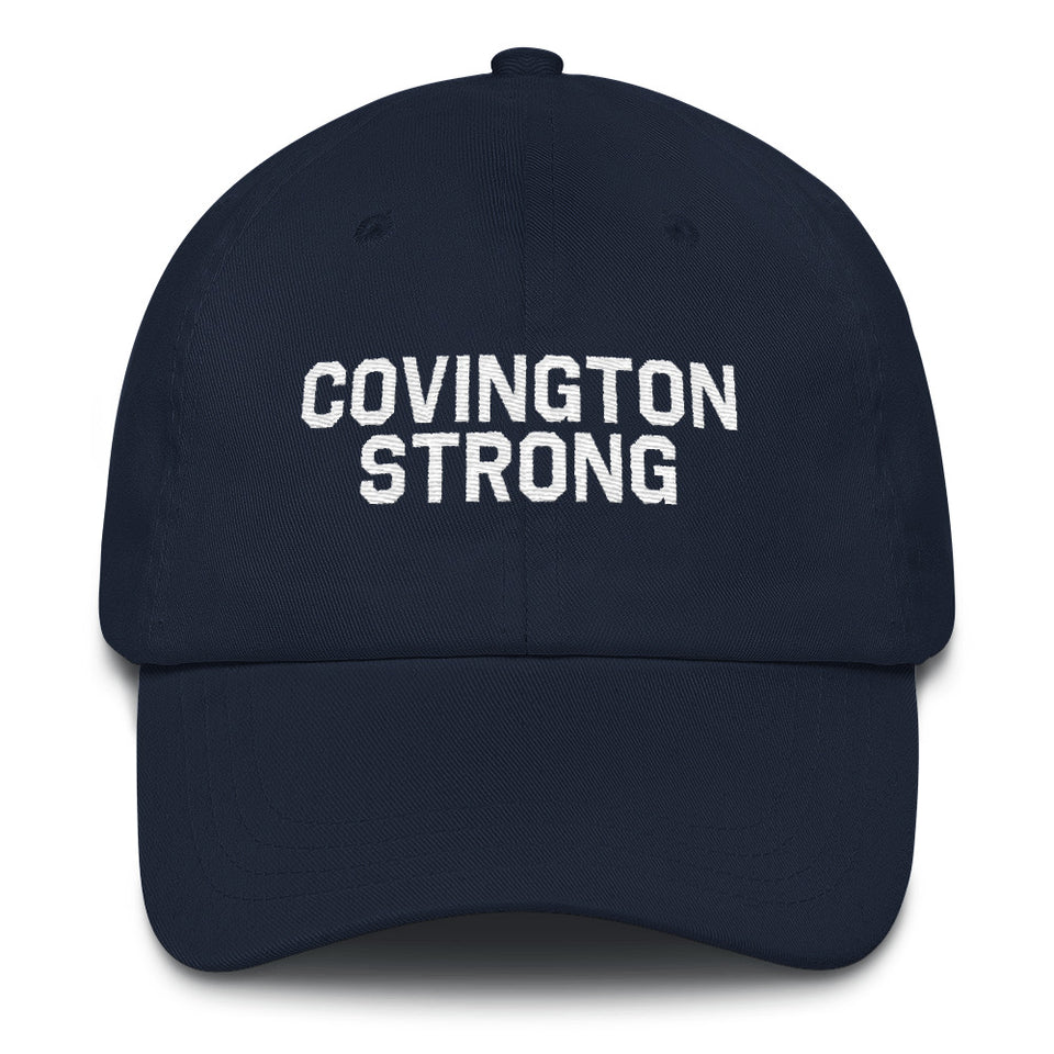 Covington Strong Dad Hat