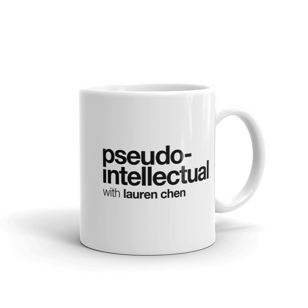 Pseudo-Intellectual Logo Mug