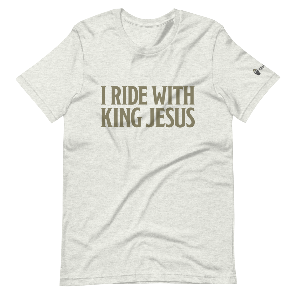 I Ride With King Jesus T-Shirt