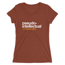 Load image into Gallery viewer, Pseudo-Intellectual Logo Women's T-Shirt