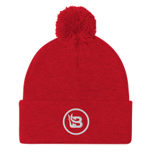 Load image into Gallery viewer, Blaze Media Icon Pom-Pom Beanie