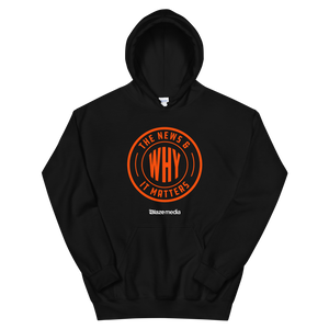 The News & Why It Matters Logo Hoodie