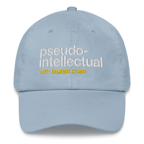 Pseudo-Intellectual Dad Hat