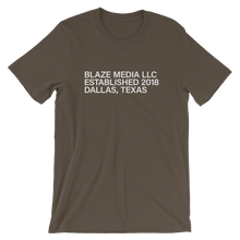 Load image into Gallery viewer, Blaze Media LLC Printed T-Shirt
