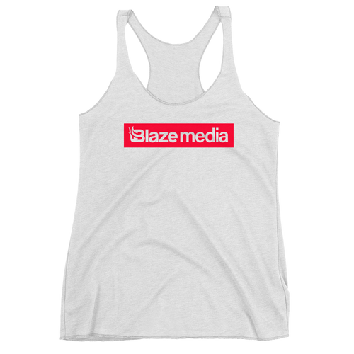 Blaze Media Block Logo Women's Tank
