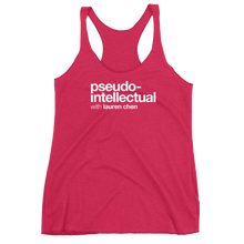 Load image into Gallery viewer, Pseudo-Intellectual Logo Women's Tank