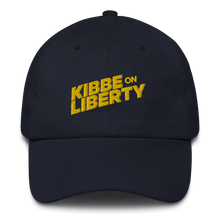 Load image into Gallery viewer, Kibbe On Liberty Logo Dad Hat