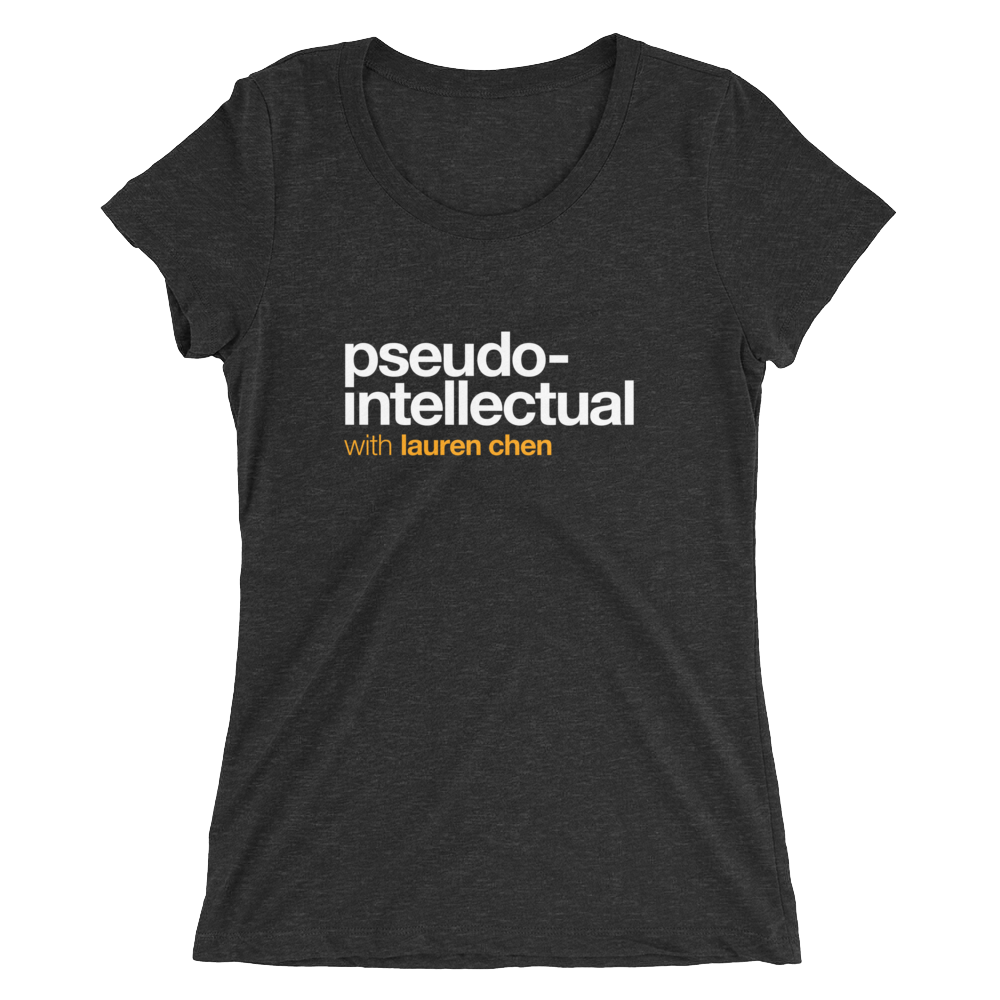 Pseudo-Intellectual Logo Women's T-Shirt