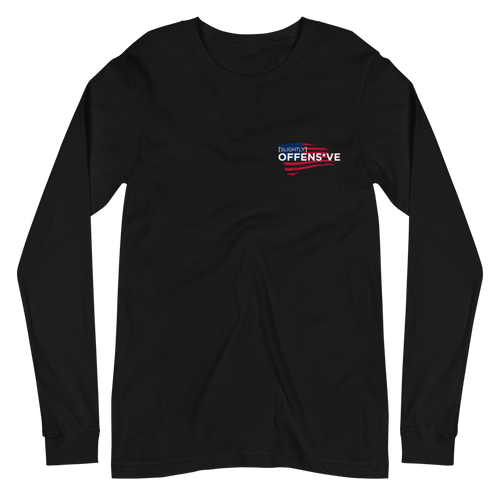 Slightly Offens*ve Flag Long Sleeve T-Shirt
