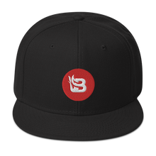 Load image into Gallery viewer, Blaze Media Red Icon Snapback