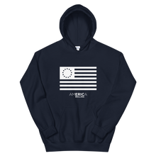 Load image into Gallery viewer, America with Eric Bolling Betsy Ross Hoodie