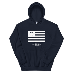America with Eric Bolling Betsy Ross Hoodie