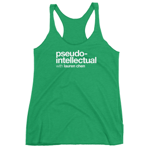 Pseudo-Intellectual Logo Women's Tank