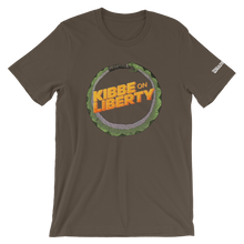 Load image into Gallery viewer, Kibbe On Liberty Logo T-Shirt