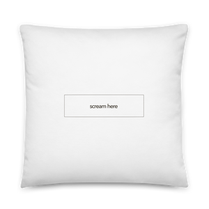 #Outrage Pillow