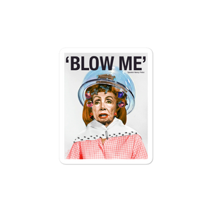 Nancy Pelosi by Sabo Sticker