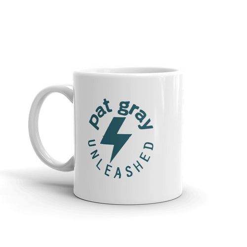 Pat Gray Unleashed Logo Mug