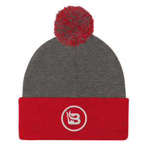 Blaze Media Icon Pom-Pom Beanie