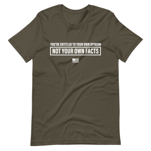 Facts > Opinions T-Shirt