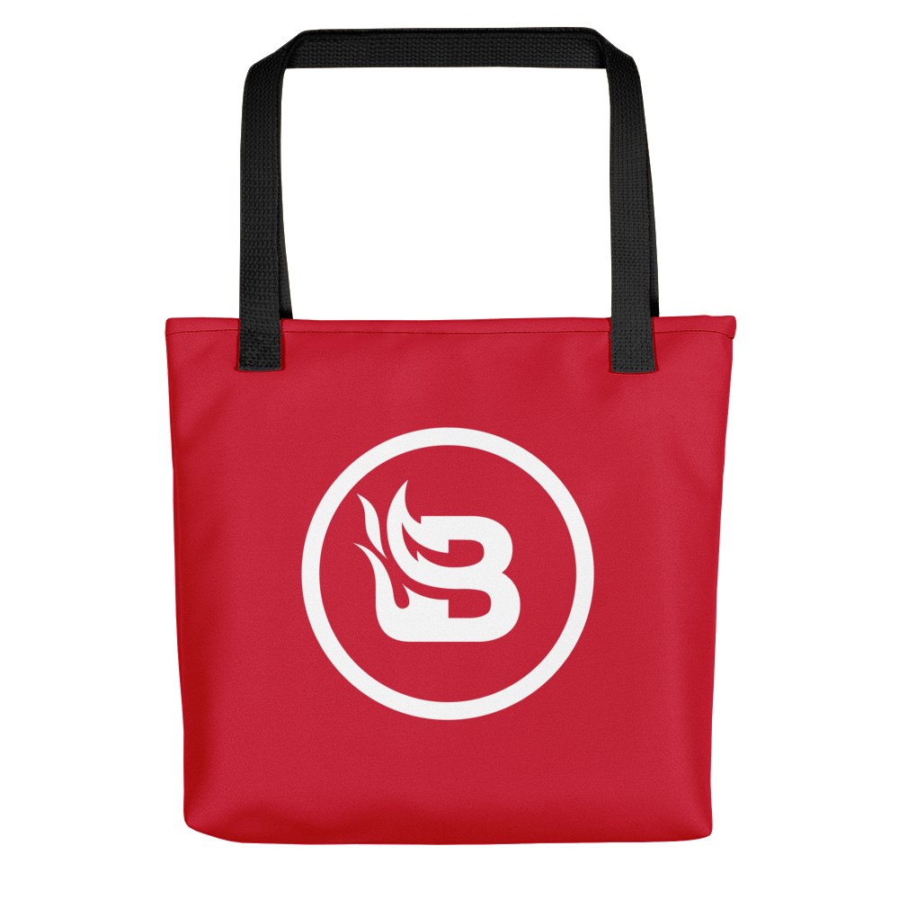 Blaze Media Icon Tote Bag