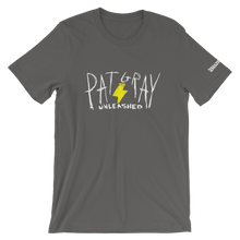Load image into Gallery viewer, Pat Gray Unleashed Intro Logo Lightning Bolt T-Shirt