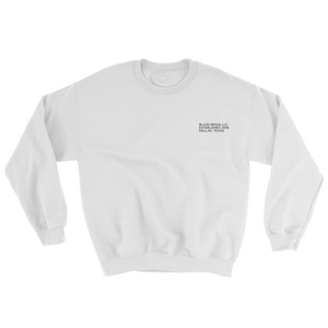 Blaze Media LLC White Crewneck Sweatshirt