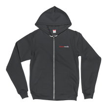 Load image into Gallery viewer, Blaze Media Embroidered Zip Hoodie