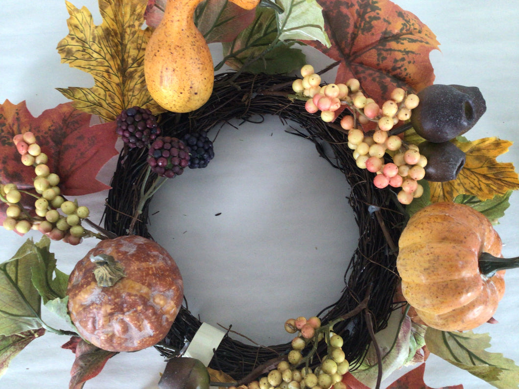 "6""Candle Ring - Pumpkin, Gourd, Pod"
