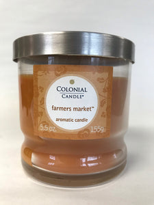 Colonial Candle - Farmer's Market - 5.5oz Jar