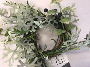 "1""Candle RIng - Dusty Miller"