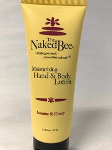 Naked Bee - Jasmine & Honey Lotion - Small 2.25oz