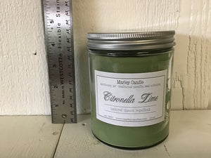Citronella Lime - 16oz Traditional - apothecary jar